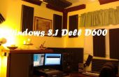 8.1 de Windows et 7 sur Dell D600 via un port USB