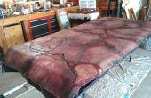 Écorché de tissu de table de la chair humaine (ou comment assurer votre belle-mère ne mange jamais chez vous à nouveau)