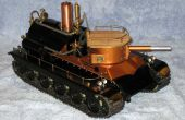 Tourelle de char à vapeur