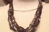 Crochet collier