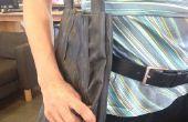 Imperméable à l'eau Extra Durable Shopping Bag fait des vieux vélo chambres à air