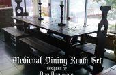 Comment construire un ensemble de salle à manger médiévale
