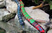 Antique des jouets en bois de serpent