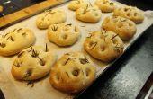 Comment faire des petits pains focaccia