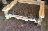 Transformer une vieille palette en un lit de chien