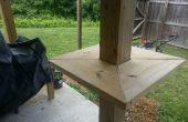 Table d'appui du pont