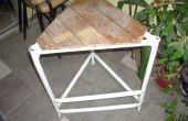 Table-tabouret-échelle (mesa-banqueta-escalera)