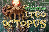 SteamPunk Lego LED Octopus