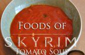 Aliments de Skyrim : soupe de tomates