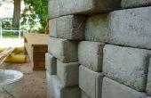 Casting de brique en béton