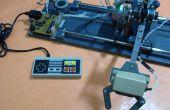 Bras robotisé commandé par manette NES