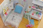 Chambre de maison de poupée Miniature bricolage
