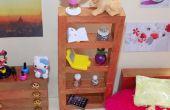 Chambre à coucher du Dollhouse Miniature fille LPS bricolage
