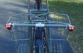 Vélo les lumières directionnelles - Simple, faible coût et Solar Powered