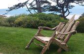 Comment faire une chaise de jardin bois flotté