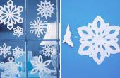 Comment faire un flocon de neige avec du papier