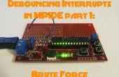 Antirebonds interruptions avec MPIDE partie 1: la Force Brute