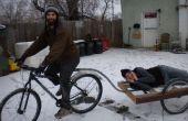 Le marteau de temps ! Remorque de vélo
