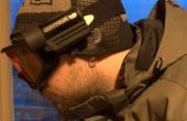 ContourHD sur un masque de Paintball Vforce Grill