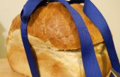 Pique-nique sandwichs dans une boîte à pain