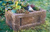 Comment faire un jardin creux (Hypertufa planteur)