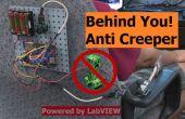Derrière vous ! Système d'alerte anti-Creeper
