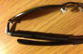 Fouetter & arrimage lunettes réparation
