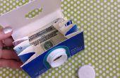 Artisanat pour enfants : portefeuille de Carton de lait