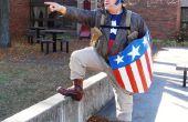 WWII Captain America Bucky sauvetage tenue