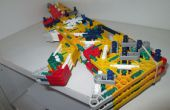 Fold up knex rubber band gun prototype