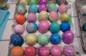 Comment faire et utiliser des œufs de confettis
