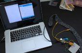 Haleine bricolage capteur avec Arduino (capteur Stretch tricoté conductrice)