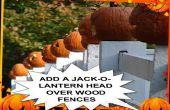 Décoration de Halloween pour barrière
