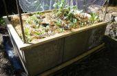 Faire un lit de jardin déclenché de pavés en béton