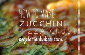 Comment faire des croûtes à Pizza courgettes | Sans gluten