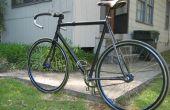 Vélo en fibre de carbone
