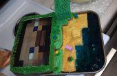 Gâteau de Minecraft