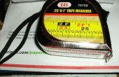 Mise à jour : ruban à mesurer de réparation - réparation supplémentaire pour Lufkin Pee Wee (étape 4 partir)