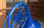 Bleu Français corne