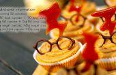 Cupcakes poire et Caramel (32) - Harry Potter (GF)