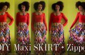 Comment de bricolage un coloré Maxi jupe avec une fermeture à glissière