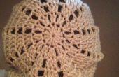 Slouchy Triangle bonnet Crochet Pattern