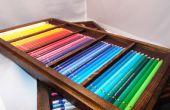 Plateaux empilables crayon