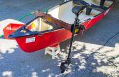 Pêche à la traîne canot moteur électrique