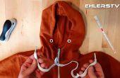 Renfilez votre chandail à capuchon (à moins de 1 minute) - vie Hack
