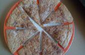 Trois ingrédient croustilles de tortilla croustillante de sucre cannelle