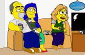 Comment dessiner vous-même ou autres personnes comme Simpson Charakter