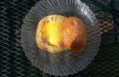 Feu de camp jambon, oeuf & fromage pain bol