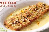 Pain Toast délicatesse sucrée | VENTUNO Accueil cuisine