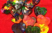 Recyclé Crayons pour bateaux de plaisance de journée Kid Saint-Valentin